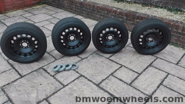 bmw style 12 steel wheels