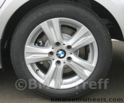 BMW wheel style 222